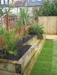 raised garden beds along fence landscaping pinterest fences