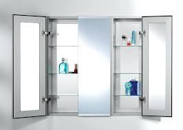 glass door medicine cabinet recessed medicine cabinet without door bathrooms medicine cabinet