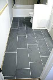Slate Tile Bathroom Ideas Black Slate Tile Bathroom Floor Bathroom Floor A Best Slate Tile