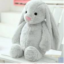 bunny plush bunny plush instocks toys toys on carousell