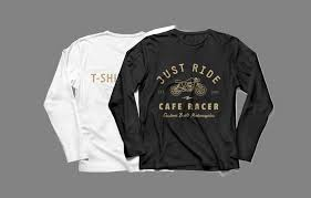 long sleeve t shirt front u0026 back mockup mockupworld
