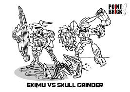 lego bionicle coloring coloring