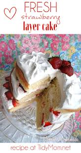 fresh strawberry layer cake recipe