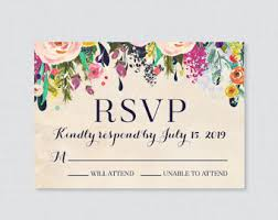 rsvp cards for wedding rustic rsvp wedding response card and recipe cards wedding