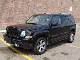 2017 jeep patriot sunroof used 2017 jeep patriot 4wd high altitude navigation gps leather