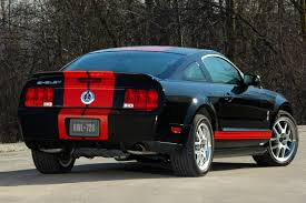 Black Mustang Shelby 2007 Shelby Mustang Gt500 Red Stripe Pictures History Value