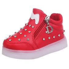 light up shoes studded light up shoes kids light up shoes led junior s