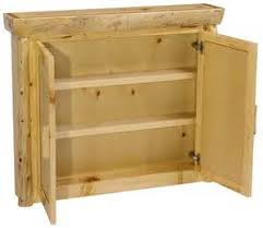 Rustic Bathroom Medicine Cabinets by Knotty Pine Medicine Cabinet Rustic Pine Bathroom Cabinets