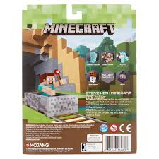 how to write on paper in minecraft jazwares mojang minecraft steve with minecart 6 walmart com