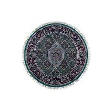 Round Persian Rug 4 Ft