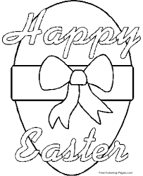 Easter Coloring Pages A Coloring Sheet