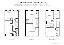 property for sale oaklands wood hatfield al10 4 bedroom town