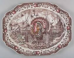 ceramic turkey platter his majesty turkey platter by johnson brothers at replacements ltd
