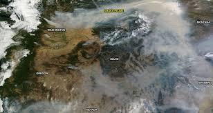 Map Of Fires In Oregon by Utah Asthma Program