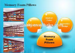 Hotel Comfort Memory Foam Pillow New Design Massage Cool Gel Memory Foam Pillow For Hotel Comfort