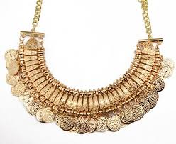 chunky gold necklace fashion images Cheap coin jewelry necklace find coin jewelry necklace deals on jpg