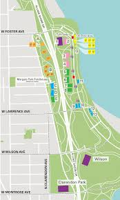 North Shore Chicago Map by Field Map