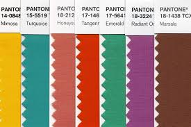 pantone color of the year u2013 the numbers briefly wsj
