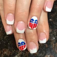 65 vibrant patriotic day nails idea for a perfect look