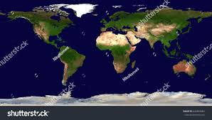 Earth World Map high resolution earth continents flat world stock photo 644893684