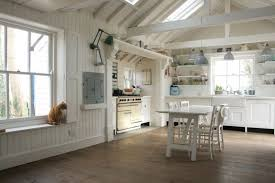 vaulted kitchen ceiling ideas vaulted ceiling paint ideas with white beadboard wall decor and