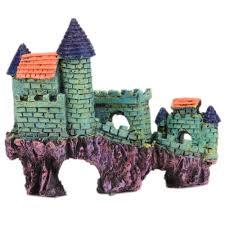 compare prices on aquarium castle decorations online shopping buy