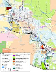 Arizona State Map With Cities by I 11 U0026 Intermountain West Corridor Study