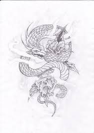 exotic snake tattoo design by konton kyoudai on deviantart