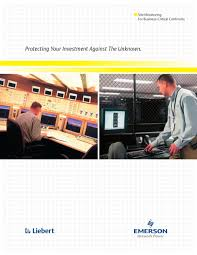 liebert monitoring catalog vertiv pdf catalogue technical