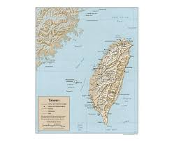Taiwan Map Asia by Maps Of Taiwan Detailed Map Of Taiwan In English Tourist Map