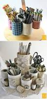 How To Decorate A Tin This Is A Cute Idea Take A Bunch Of Tins Glue Them Down On A