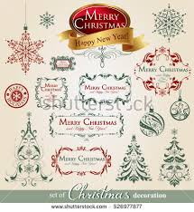 vintage christmas ornaments stock images royalty free images
