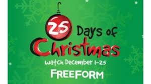 abc announces u002725 days of christmas u0027 lineup and program highlight