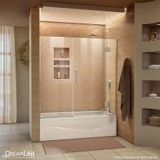 58 Inch Bathtub Shower Combo Shop Bathtub Doors At Lowes Com