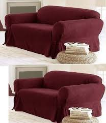 5 Piece Sofa Slipcover 3 Piece Sofa Slipcover Ebay