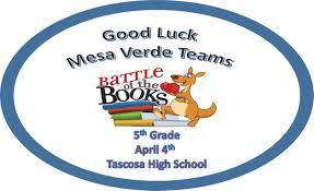 Home   Mesa Verde Elementary School   th Grade Battle of the Books