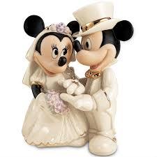 mickey and minnie wedding disney s minnie s wedding figurine disney