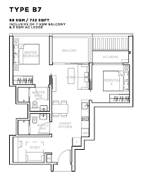 Bugis Junction Floor Plan by Sophia Hills New 99 Years Leasehold Condominium Development