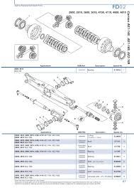 ford front axle page 73 sparex parts lists u0026 diagrams