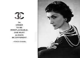 in order to be irreplaceable u2026 coco chanel fashion designer