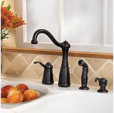 price pfister marielle kitchen faucet tuscan bronze marielle 1 handle kitchen faucet lg26 4nyy