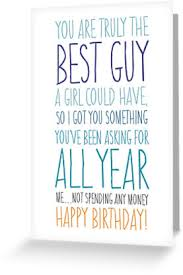 birthday card for husband birthday card for boyfriend or husband greeting cards by