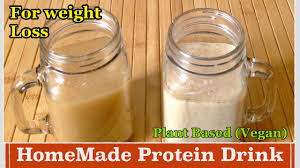 Homemade Plant Food by Homemade Protein Powder Drink How To Make Plant Based Protein