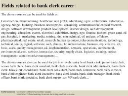 Personal Banker Job Description For Resume by Job Application Letter Bank Clerk