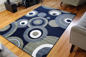 Blue Contemporary Rugs Area Rugs Collection On Ebay