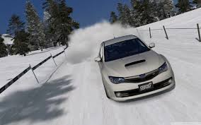 subaru wallpaper 1440x900 subaru impreza sti snow desktop pc and mac wallpaper