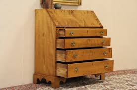 Chinoiserie Secretary Desk by Antique Federal Furniture Antique Furniture