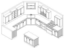 beauteous 60 kitchen design drawings decorating design of design