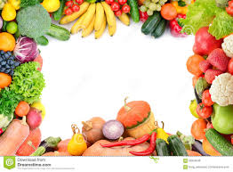 frame of vegetables and fruits stock photo image 62923548