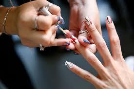 all the backstage nail art we u0027re loving at new york fashion week